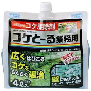 ◎レインボー薬品 コケとーる業務用 4L コケ駆除剤|sundays-garden
