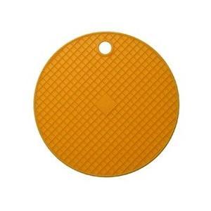 リビング COLORED シリコンポットホルダー オレンジ...