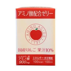 レオック アミノ酸配合ゼリー リンゴ味 100ML【18個セット(ケース販売)】 sundrugec