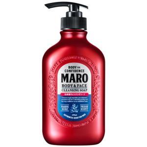 MARO(マーロ) 全身用クレンジングソープ ポンプ 450ml|sundrugec