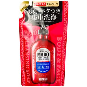 MARO(マーロ) 全身用クレンジングソープ 詰替 380ml|sundrugec