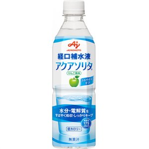 味の素 アクアソリタ 500ml【24本セット】|sundrugec