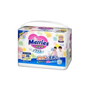 メリーズパンツ さらさらエアスルー ビッグより大きいサイズ 26枚【3個セット(ケース販売)】※明細書同梱無し|sundrugec