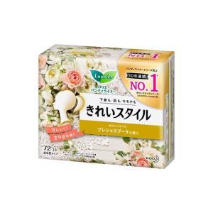 花王 ロリエ きれいスタイル プレシャスブーケの香り 72コ入【3個セット】