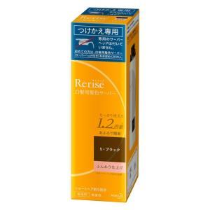 花王 リライズ 白髪用髪色サーバー ふんわり仕上げ 詰替 190g リ・ブラック|sundrugec