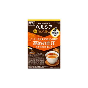 「高めの血圧を下げる」コーヒー豆由来クロロゲン酸類を配合。<br>血圧が高めの方に。(機...