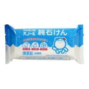 シャボン玉 スノール 純石けん 180g【3個セット】