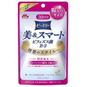 森永乳業 美&スマート ビフィズス菌B−3(30日分)30粒 sundrugec