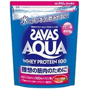 ザバス アクアホエイプロテイン100 アセロラ 840g(40食分)|sundrugec