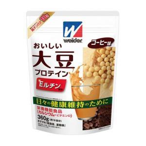 森永製菓 ウイダー おいしい大豆プロテイン コーヒー味 360g|sundrugec