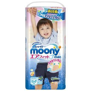 ムーニーマンエアフィット男の子ビッグ 38枚【ケース販売4個...