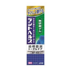 【医薬部外品】デントヘルス薬用ハミガキ無研磨ゲル 85g|sundrugec