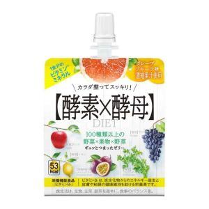 ◆イースト エンザイムダイエットゼリー グレープフルーツ味150g【6個セット】
