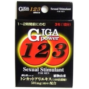 メイクトモロー ギガパワー123 3粒|sundrugec