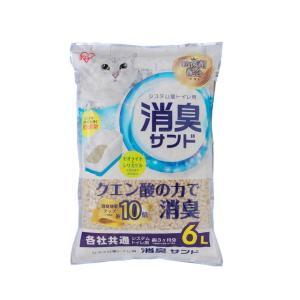 アイリスオーヤマ システムトイレ用におわない消臭サンド 6L ※発送まで7〜11日程