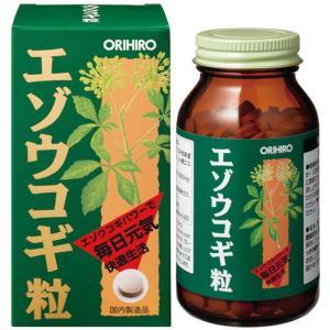 ◆オリヒロ エゾウコギ粒 400粒|sundrugec