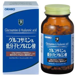 オリヒログルコサミン&低分子ヒアルロン酸108g(約432粒)|sundrugec