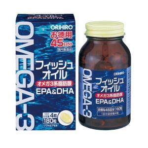 オリヒロ フィッシュオイル EPA&DHA 180粒 sundrugec