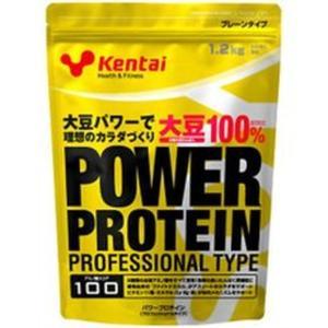◆Kentai パワープロテイン プロフェッショナルタイプ プレーン1.2kg【2個セット】