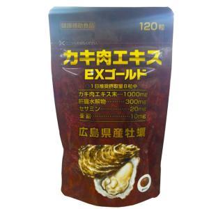 カキ肉エキスEXゴールド 120粒|sundrugec