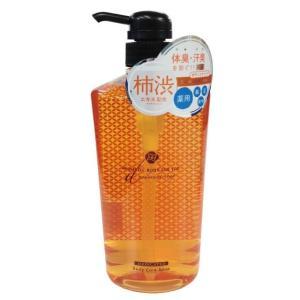 ペリカン石鹸 アロマティックリキッドソープ柿渋 620ml|sundrugec