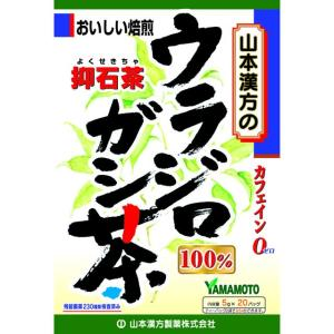 山本漢方 ウラジロガシ茶100% 5g x 20包【2個セット】