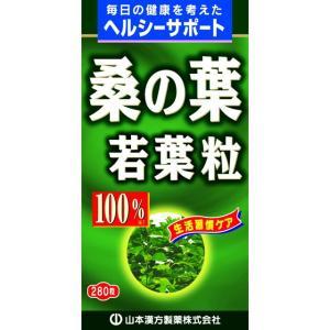 山本漢方 桑の葉粒100% 280粒|sundrugec