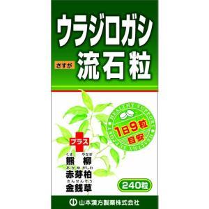山本漢方 ウラジロガシ流石粒 240粒|sundrugec