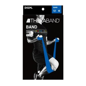 セラバンド トレーニングチューブ バンドタイプ 2m ブルー 強度レベル+2 #TBB-4【】|sundrugec