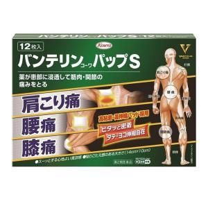【スイッチOTC】【第2類医薬品】興和新薬 バンテリンコーワパップS 12枚