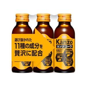 興和新薬 カンゾコーワ ドリンク 100ml×3本|sundrugec