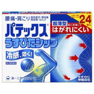 【第3類医薬品】パテックスうすぴたシップ 24枚