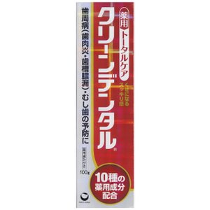 【医薬部外品】クリーンデンタル 100g|sundrugec
