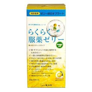 龍角散 らくらく服薬ゼリースティック 25g×6本|sundrugec