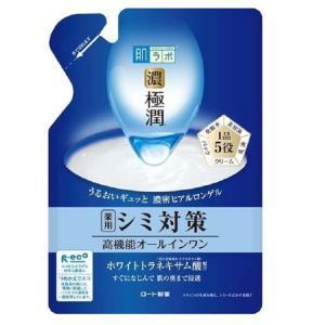 【医薬部外品】ロート製薬 肌ラボ 濃極潤 ホワイトパーフェクトゲル 詰め替え 80g