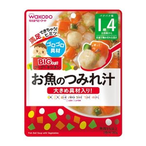 ◆和光堂 BIGサイズのグーグーキッチン お魚のつみれ汁 100g (16ヶ月頃から)【3個セット】