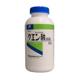 健栄製薬【食品添加物】クエン酸500G|sundrugec