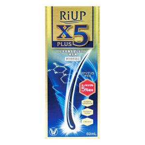 【第1類医薬品】大正製薬 リアップX5プラス 60ML ※STEP6完了後2〜4日でのご発送予定。|sundrugec