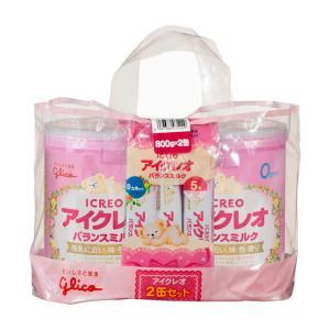 アイクレオのバランスミルク 800g×2缶セット【4個セット】(ケース販売)買うならサンドラッグ!!