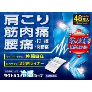 【第3類医薬品】ラクトパス冷感シップ48枚