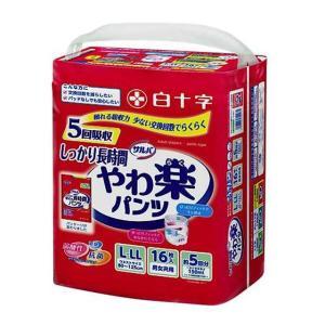【大人用紙おむつ類】白十字サルバDパンツしっかりガード(新) L-LL16枚【3個パック】|サンドラッグe-shop