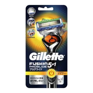 P&G ジレット フュージョン5+1 プログライドフレックスボールパワー ホルダー 替刃1個付