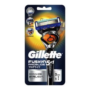 P&G ジレット フュージョン5+1 プログライド フレックスボールマニュアル ホルダー 替刃2個付