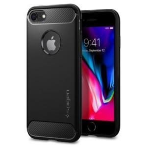 iPhone8/iPhone7用耐衝撃ケース 米国軍事規格取得、Spigen シュピゲン ラギッドア...