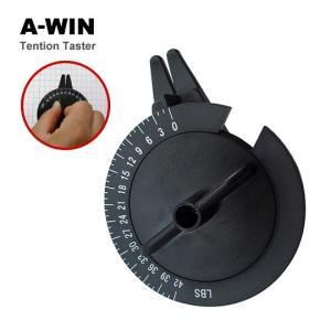 【特価】A-WIN テンションテスター 張力測定器 バドミントン アーウィン