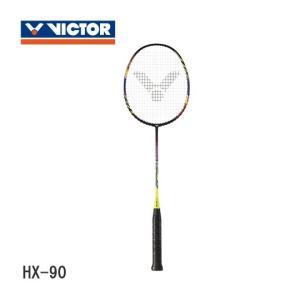 VICTOR HYPERNANO X 90 ハイパーナノX90 HX-90 バドミントンラケット ビクター【取り寄せ/ ガット張り工賃無料】|sunfastsports