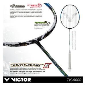 【超特価】VICTOR TK-9000 THRUSTER K 9000(スラスターK9000) バドミントンラケット ビクター【ガット張り工賃無料】|sunfastsports