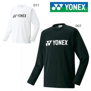 YONEX 16158 ロングスリーブTシャツ ユニセックス ウェア(ユニ) テニス・バドミントン ヨネックス 2019FW【メール便可/取り寄せ】|sunfastsports
