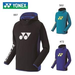 YONEX 32025 スウェットパーカー テニス・バドミントンウェア(ユニ/メンズ) ヨネックス ...
