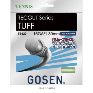 GOSEN TS620 テックガット タフ 16/TECGUT TUFF 16(単張) テニスガット...